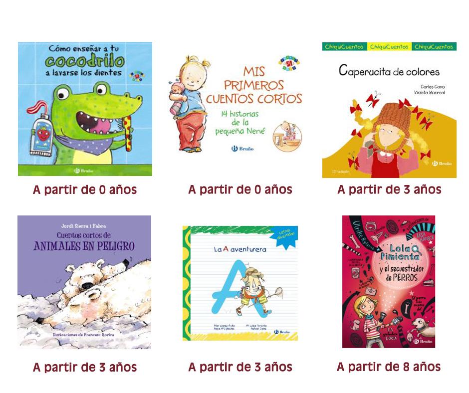 Libros infantiles y juveniles BRUÑO
