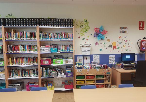 Biblioteca escolar colegio El Porvenir