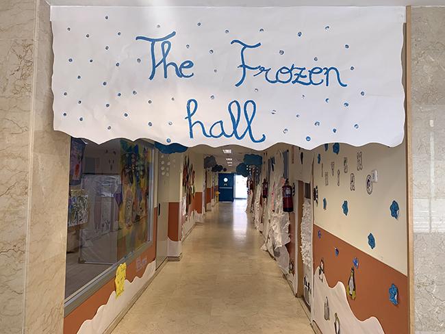 Proyecto The Frozen zone 1 año Escuela Infantil El Porvenir