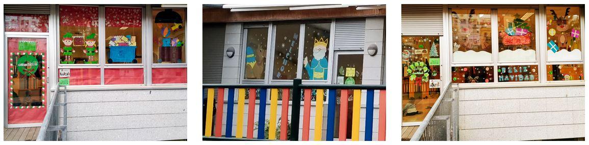 Decoraciones de Navidad Escuela Infantil El Porvenir