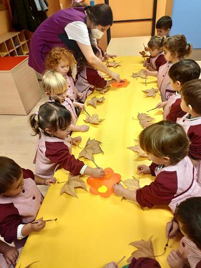 Otoño en Escuela Infantil El Porvenir