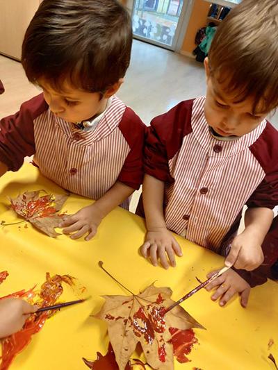 Otoño en la Escuela Infantil El Porvenir