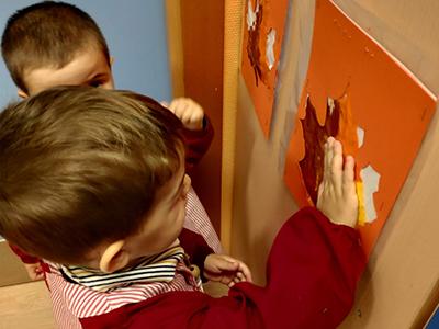 Actividad sensorial Escuela Infantil El Porvenir