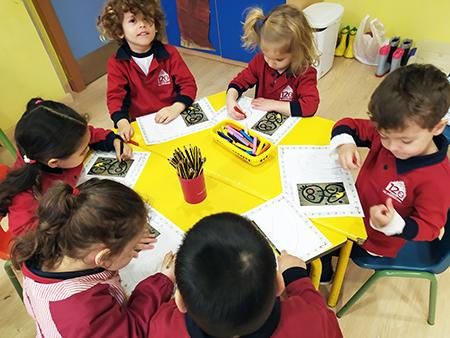 Proyecto Miró en 3 años de Infantil El Porvenir