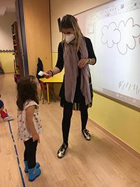 Midiendo la temperatura Educación Infantil El Porvenir