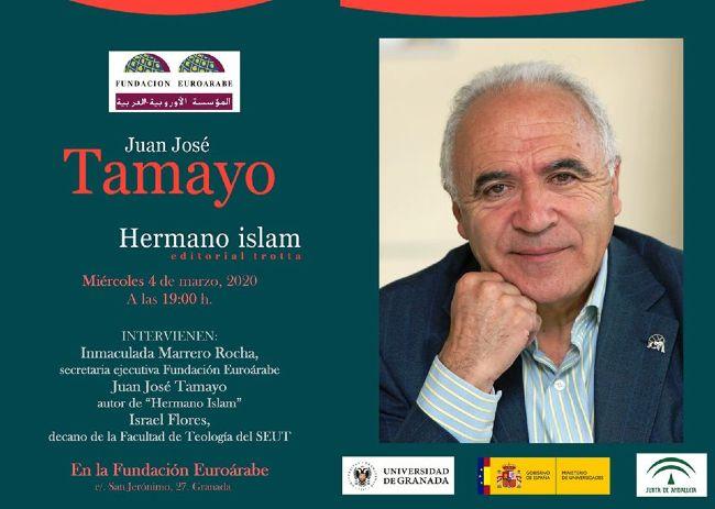Cartel acto de presentación libro de Juan José Tamayo