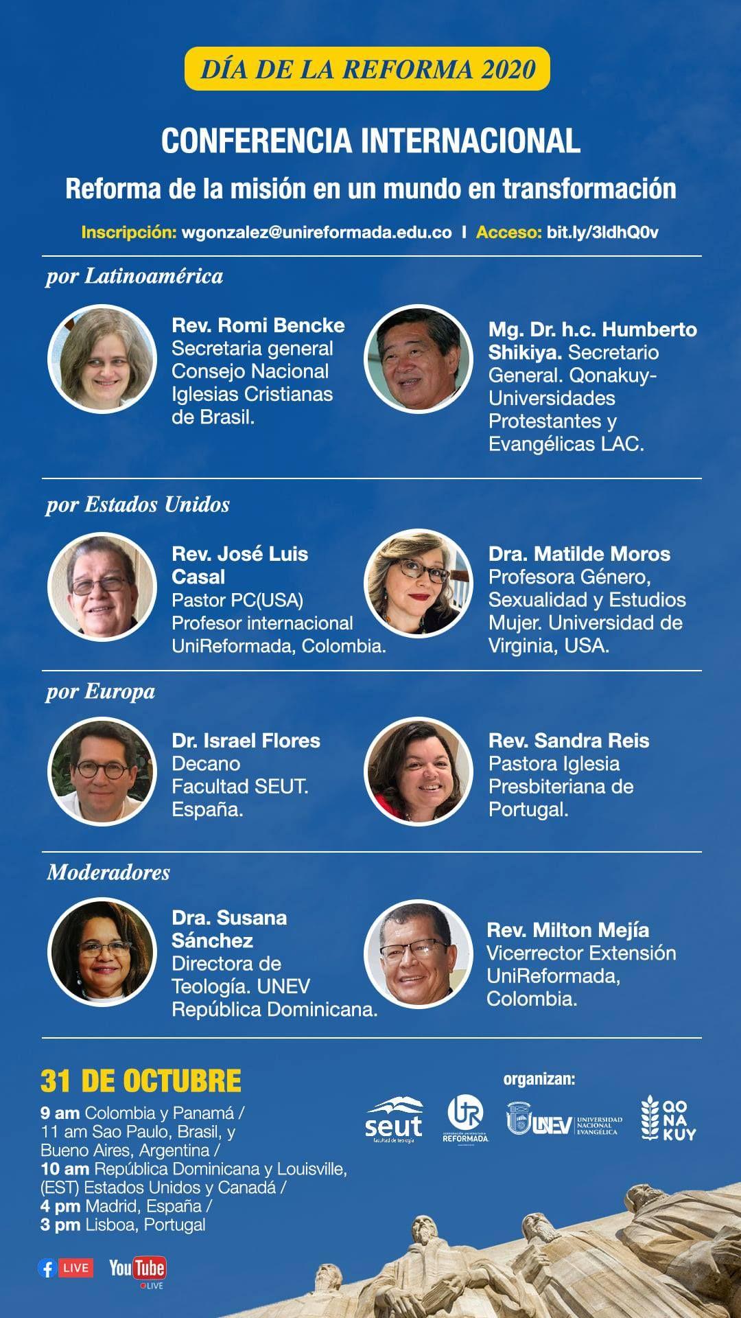 Conferencia Internacional Día de la Reforma 2020