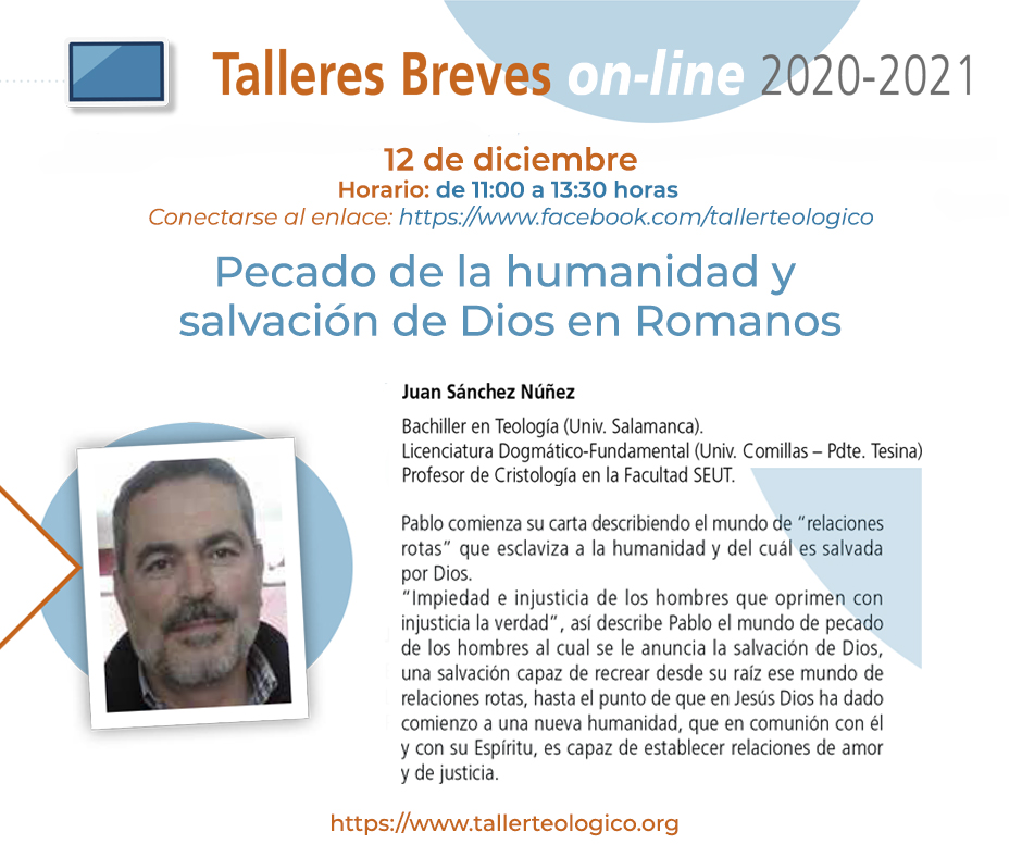 Taller Breve online del professor Juan Sánchez