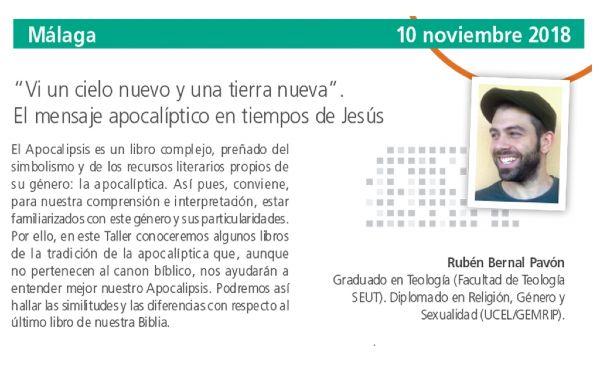Taller Breve en Málaga de Rubén Bernal