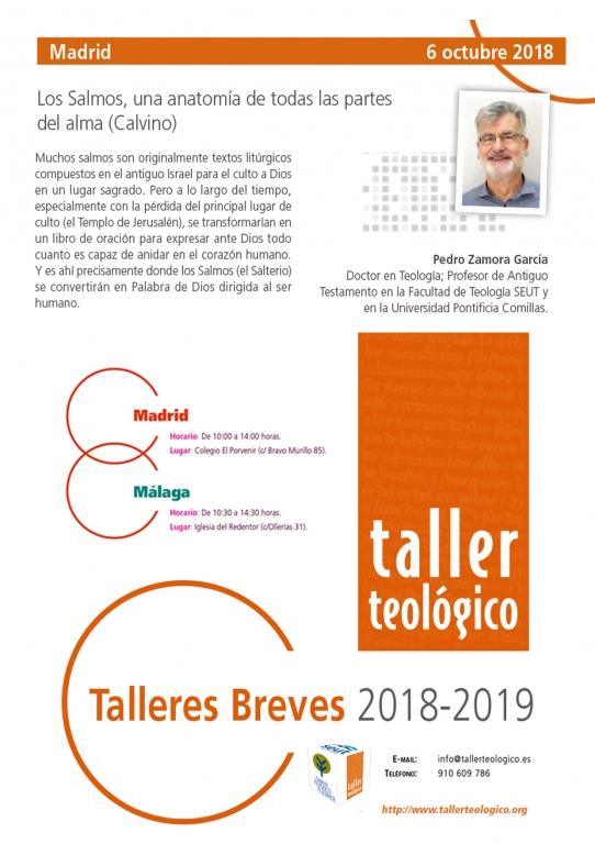 Taller Breve en Madrid con Pedro Zamora