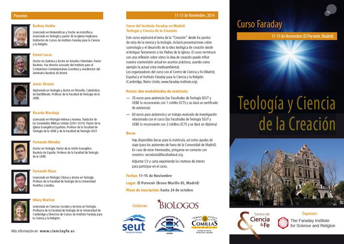 Curso Faraday, Colegio El Porvenir (Madrid). 11-15 noviembre 2014