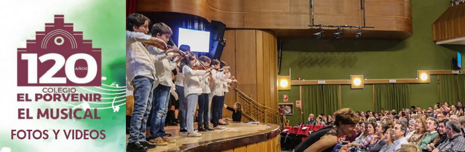 Fotos y vides El Musical 120 Aniversario El Porvenir
