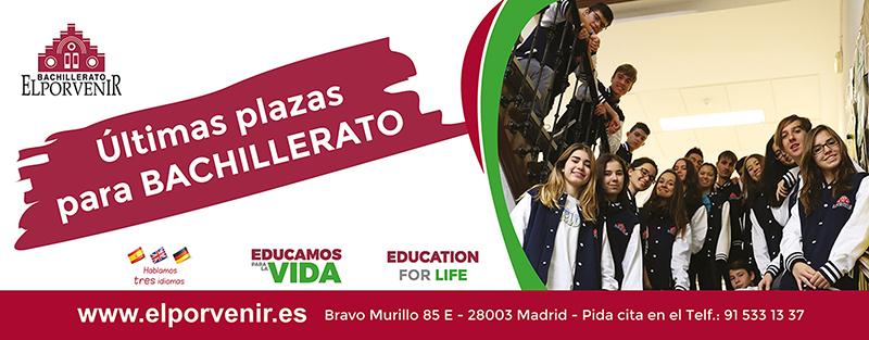 Bachillerato El Porvenir 2017-2018