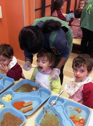 Servicio de comedor en Educación Infantil