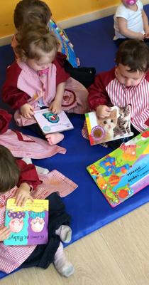 Un día de clase en Infantil