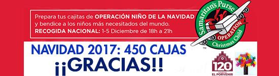 Operación Niño de la Navidad 2017