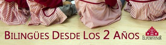 Bilingüismo desde 2 años en Educación Infantil