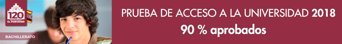 Resultados Prueba de Acceso a la Universidad 2018 Bachillerato El Porvenir