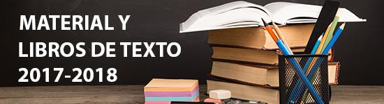 Material y libros de texto 2017-2018