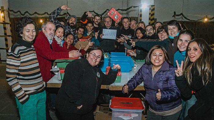 Voluntarios Operación Niño de la Navidad