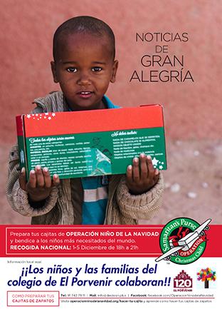 Operación Niño de la Navidad en El Porvenir