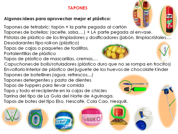 Tapones ideas