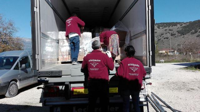 ONG olVIDAdos: entrega de alimentos