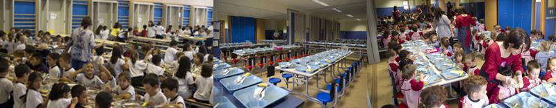 Menús mensuales comedor escolar El Porvenir