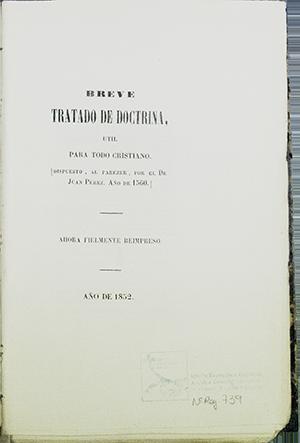 IGLESIA EVANGÉLICA ESPAÑOLA, ARCHIVO GENERAL HISTÓRICO: 739