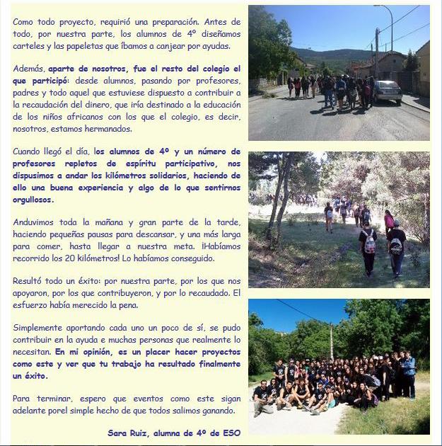 Crónica del I Trail Solidario
