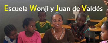 Hermanamiento Escuela Wonji y Juan de Valdés