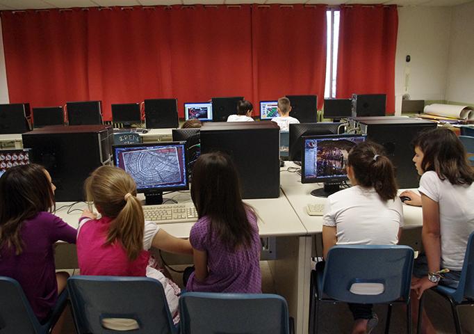 Sala de Informática de Primaria y Secundaria