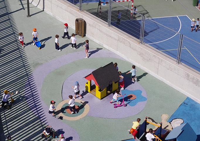 Área de juegos de Ed. Infantil