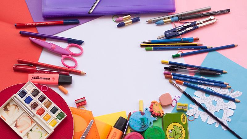 Imagen creatividad y plástica