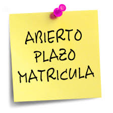 Post it - Matrícula Abierta