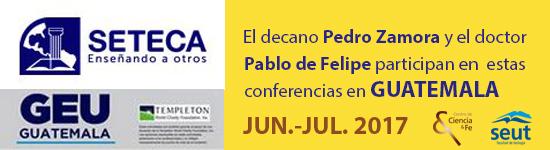Conferencias en Guatemala del Centro de Ciencia y Fe de la Fundación Federico Fliedner