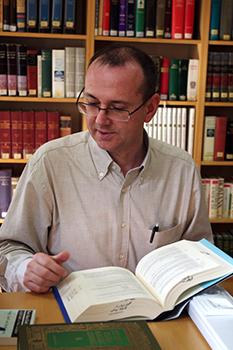 Pablo de Felipe, coordiandor del Centro Ciencia y Fe
