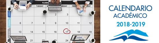 Calendario Académico 2018-2019 Facultad de Teología SEUT