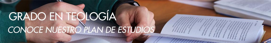 Plan de Estudios Grado en Teología SEUT