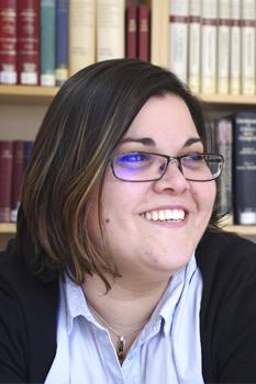 Mireia Vidal, responsable del Taller Teológico de la Faculad de Teología SEUT