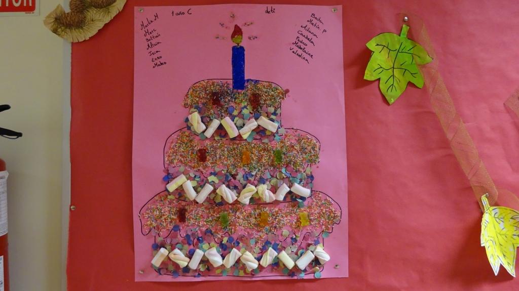 Decoraciones del colegio en el 118 aniversario for Decoracion para aniversario