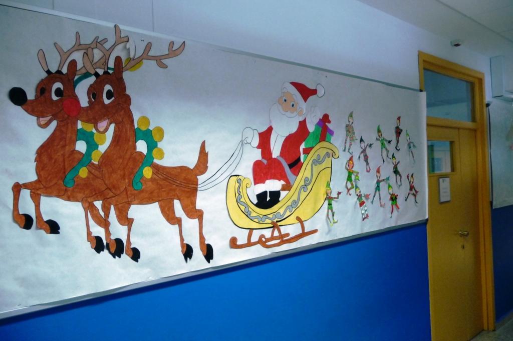 Galer a 1 decoraci n navide a en juan de vald s 2015 for Decoracion navidena infantil