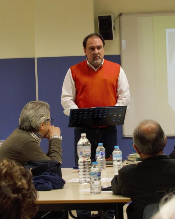 Foto del tallerista, Ricardo Moraleja