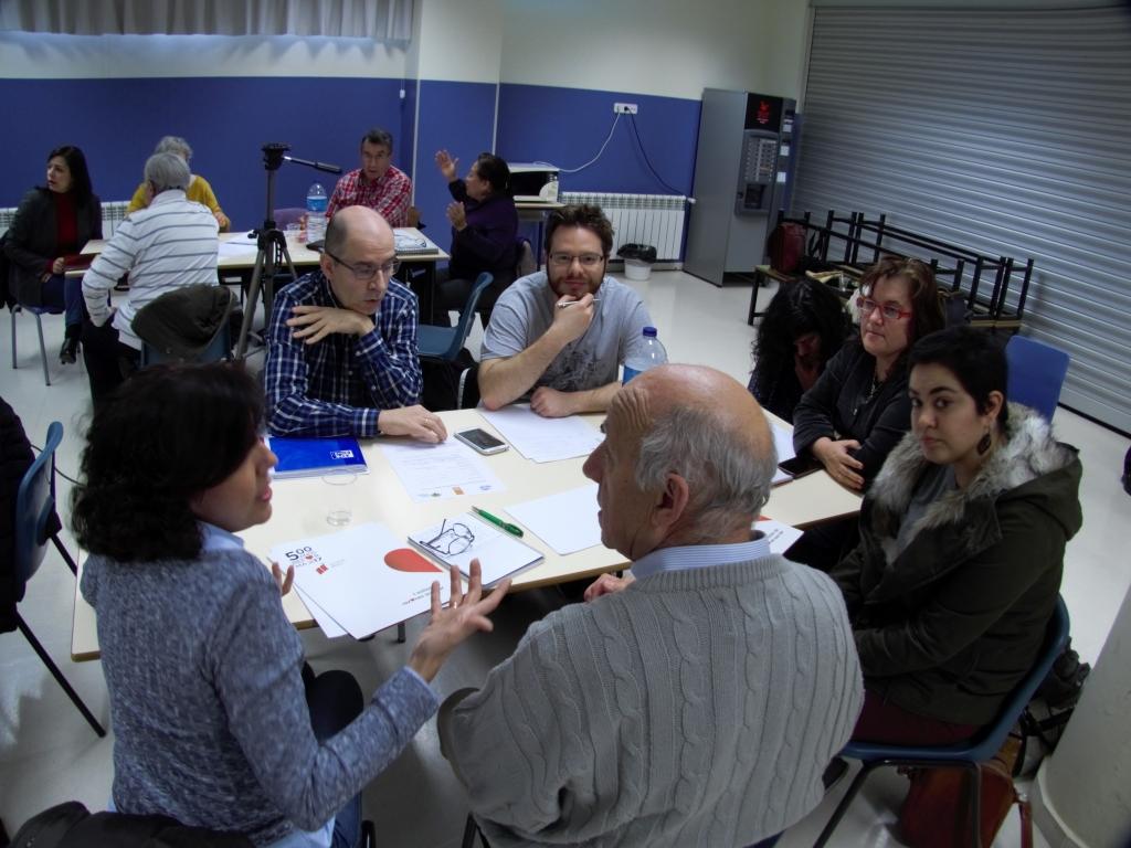 Foto de dos grupos