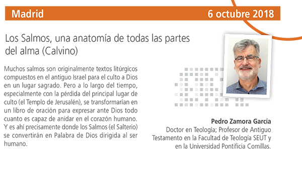 Taller Teológico en Madrid con Pedro Zamora