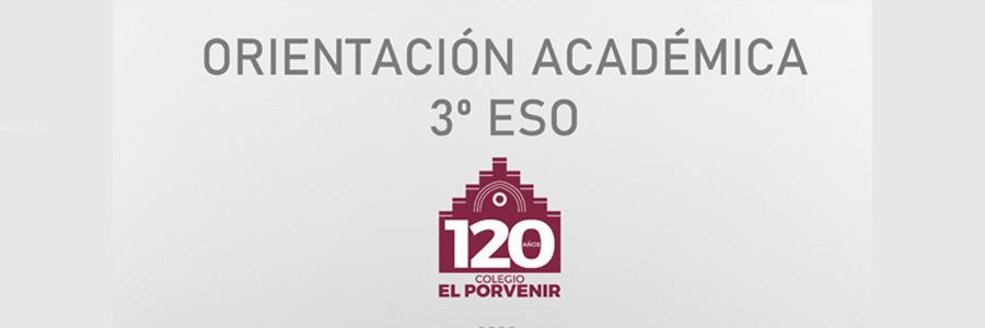 Orientación académica a 3º ESO