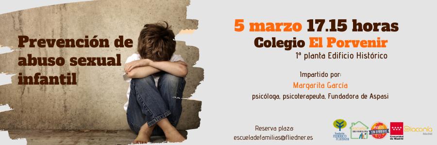 """Próxima Escuela de Familias: """"""""Prevención de abuso sexual infantil"""""""