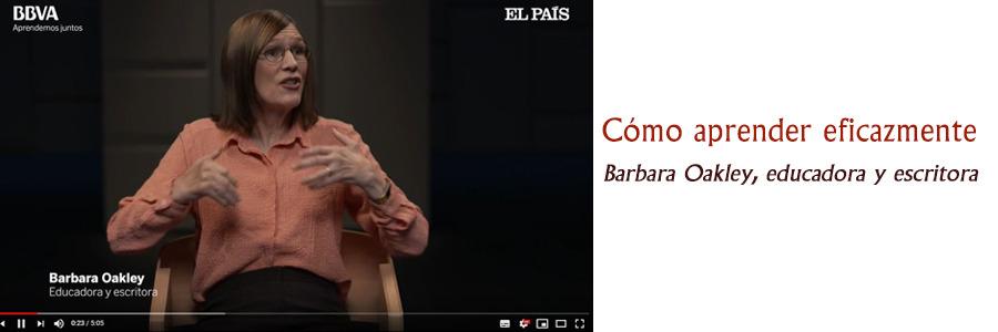 """""""Estrategias para aprender mejor"""", de Barbara Oakley, educadora y escritora."""