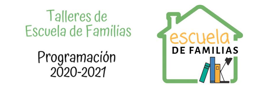 Programación de Escuela de Familias online - primer trimestre 2020-2021