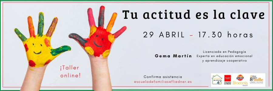 """Escuela de Familias celebra el taller """"Tu actitud es la clave"""""""